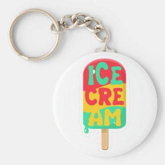 Ice-cream Keychain