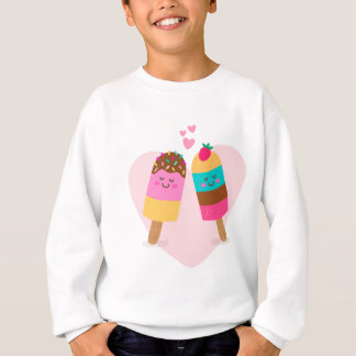 Ice cream lovers be my valentine sweatshirt