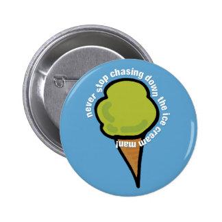 Ice Cream Man 2 Inch Round Button
