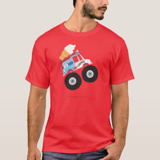 Ice Cream Monster Truck T-Shirt