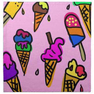 Ice Cream Napkin