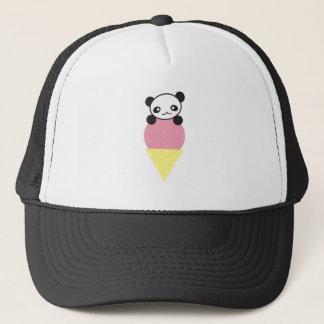Ice Cream Panda Trucker Hat