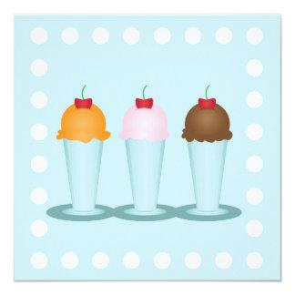 Ice Cream Parlor Card