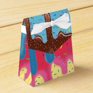 Ice Cream Party bags Favor Box