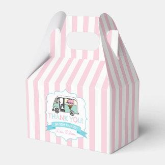 Ice Cream Party Favor Box