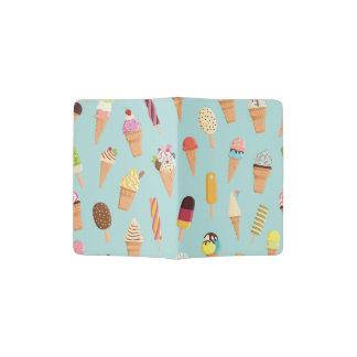 Ice cream pastels passport holder