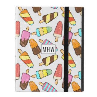Ice Cream Pattern custom monogram device cases