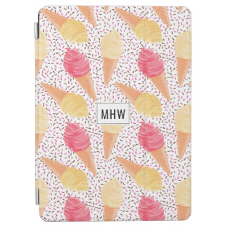 Ice Cream Pattern custom monogram device covers