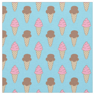 Ice Cream Pattern, Fun Summer Fabric