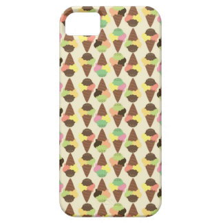 Ice Cream Pattern iPhone 5 Cases