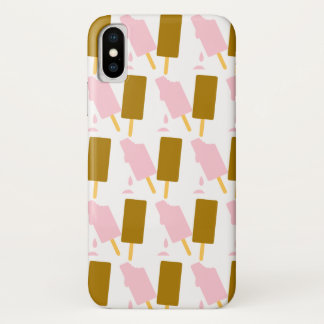 Ice Cream Popsicle Summer Treats iPhone X Case
