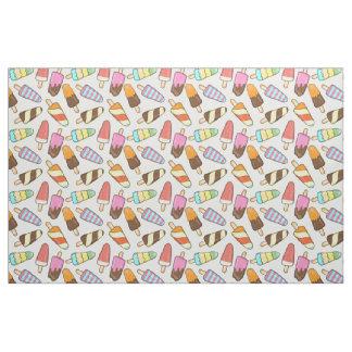 Ice Cream Popsicles Pattern fabric