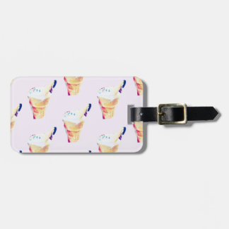 Ice Cream Queen Luggage Tag