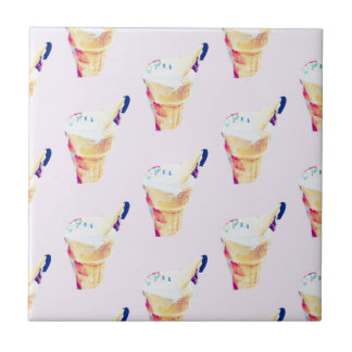 Ice Cream Queen Tile