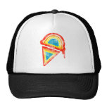 ice cream rainbow dripz trucker hat