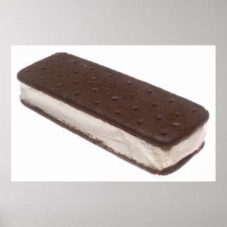 Ice Cream Sandwich Print