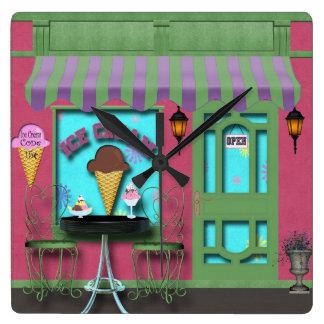 Ice Cream shop clock