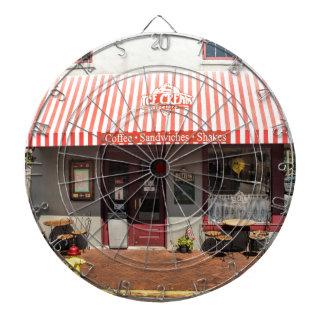 Ice Cream Shop Downtown Savannah Dartboards
