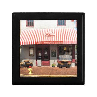 Ice Cream Shop Downtown Savannah Jewelry Boxes