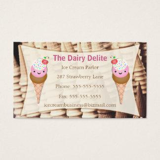 Ice Cream Shop / ParlorBusiness Card - Custom