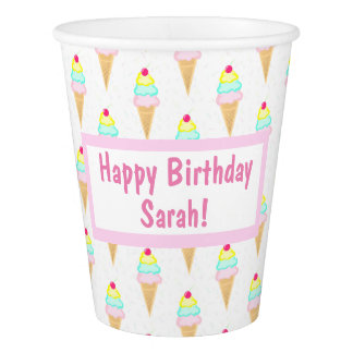 Ice Cream Sprinkles - Paper Cups