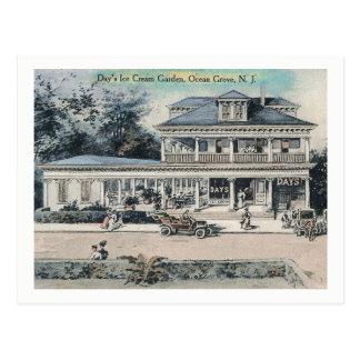 Ice Cream Stand, Ocean Grove, NJ Vintage Postcard