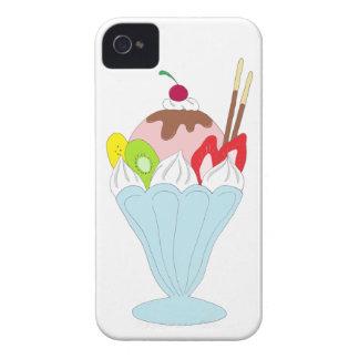 Ice Cream Sundae iPhone 4 Covers