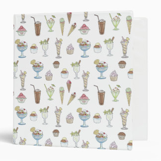 Ice Cream Sundae Collage Binders