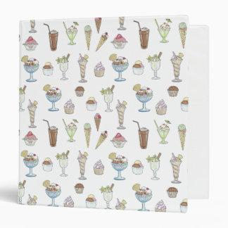 Ice Cream Sundae Collage Binders