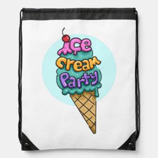 Ice Cream Theme Bag