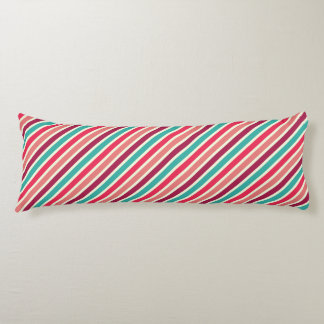 Ice Cream Thin Stripes Pattern Body Pillow