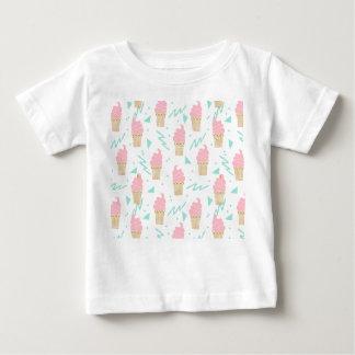 Ice Cream Triangle Pastel Pink / Andrea Lauren Baby T-Shirt