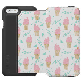Ice Cream Triangle Pastel Pink / Andrea Lauren Incipio Watson™ iPhone 6 Wallet Case
