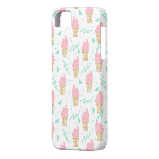 Ice Cream Triangle Pastel Pink / Andrea Lauren iPhone 5 Covers