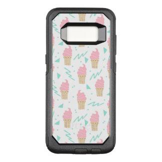 Ice Cream Triangle Pastel Pink / Andrea Lauren OtterBox Commuter Samsung Galaxy S8 Case