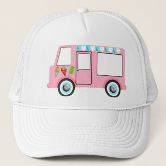 Ice Cream Truck Trucker Hat