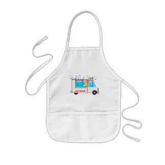 Ice Cream Truck with Music Kids Apron