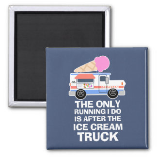 Ice Cream Truck Workout Magnet