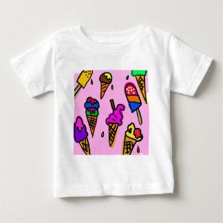 Ice Cream Wallpaper Baby T-Shirt