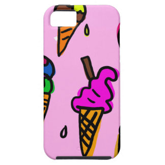 Ice Cream Wallpaper iPhone 5 Case