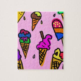 Ice Cream Wallpaper Jigsaw Puzzle