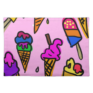 Ice Cream Wallpaper Placemat
