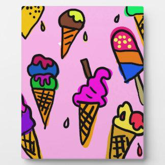 Ice Cream Wallpaper Plaque