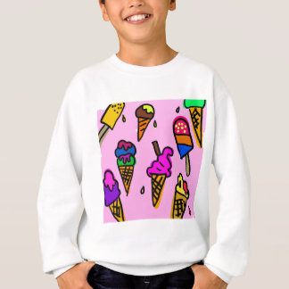 Ice Cream Wallpaper Sweatshirt