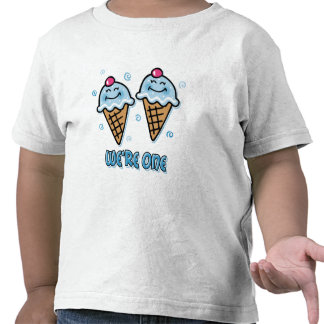 Ice Cream We re One Twin Boys T-shirt