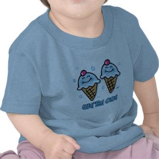 Ice Cream We're One Twin Boys Shirts