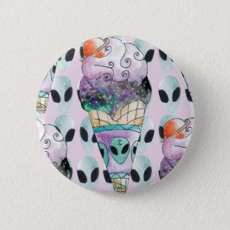 ice cream with foreign fund 2 inch round button