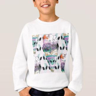 ice cream with foreign fund sweatshirt