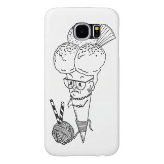 """Ice Cream with Granny"" Samsung Cover"