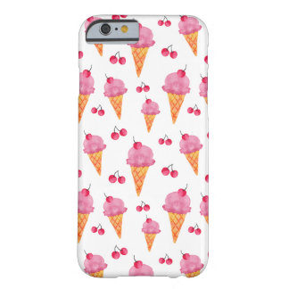 Ice creams & cherries barely there iPhone 6 case